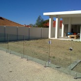 Glass Fencing Construction
