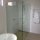shower room glass screen Perth